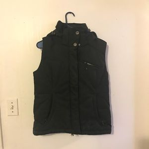 Solomon Puffy Hooded Vest